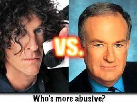 Howard Stern comments on Angry O Reilly