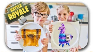 Pancake Art Challenge 😁 Fortnite Edition 🥞 Challenge Deutsch