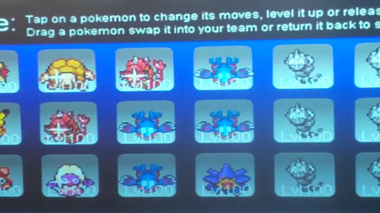 pokemon tower defense accounts