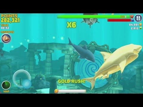 Hungry Shark Evolution: GREAT WHITE SHARK #3