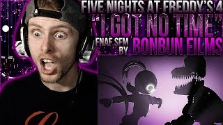 "Vapor Reacts #645 | [FNAF SFM] FNAF 4 SONG ANIMATION ""I Got No Time"" by BonBun Films REACTION!!"