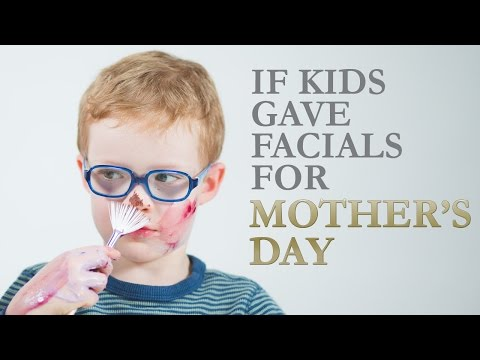 If Kids Gave Facials For Mother's Day | Eminence Organic Skin Care