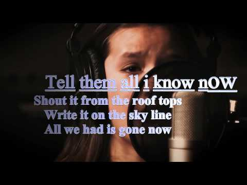 Maddi Jane Impossible Lyrics (shontelle) video