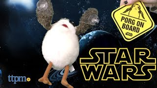 Porg On Board Collectible Plush from Underground Toys