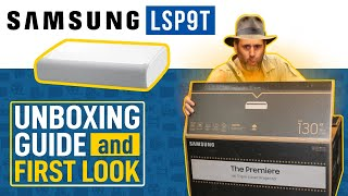 Samsung LSP9T 4K UST Projector Unboxing & First Look