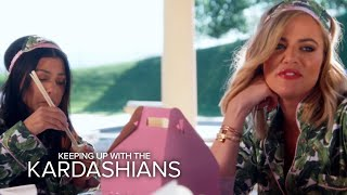KUWTK | Kim and Kourtney Surprise Khloé With TLC Party | E!