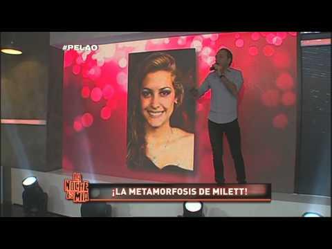 ¡Mira la metamorfosis de Milett Figueroa en La Noche Es Mía!