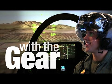 With the Gear | X-Ray Helmet, Virtual F-35