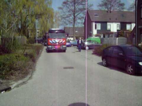Brandweer Venhuizen komt ter plaatse bij Hinderlijke lucht Zanglijster