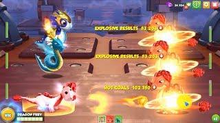 [Fire] - Hot Coals vs Slow Burn - Dragon Mania Legends