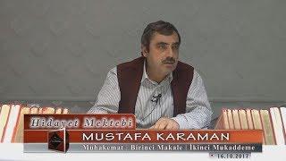 Mustafa Karaman - Muhakemat - Birinci Makale - İkinci Mukaddeme