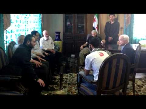 McCain Met ISIS Islamic State Leader - Webster Tarpley