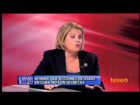 Ileana Ros-Lehtinen en A Mano Limpia parte II - América TeVé