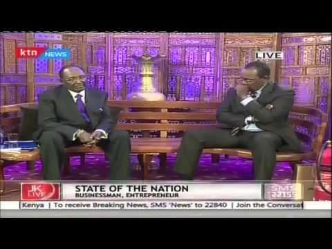 Jeff Koinange Live with Chris Kirubi part 3