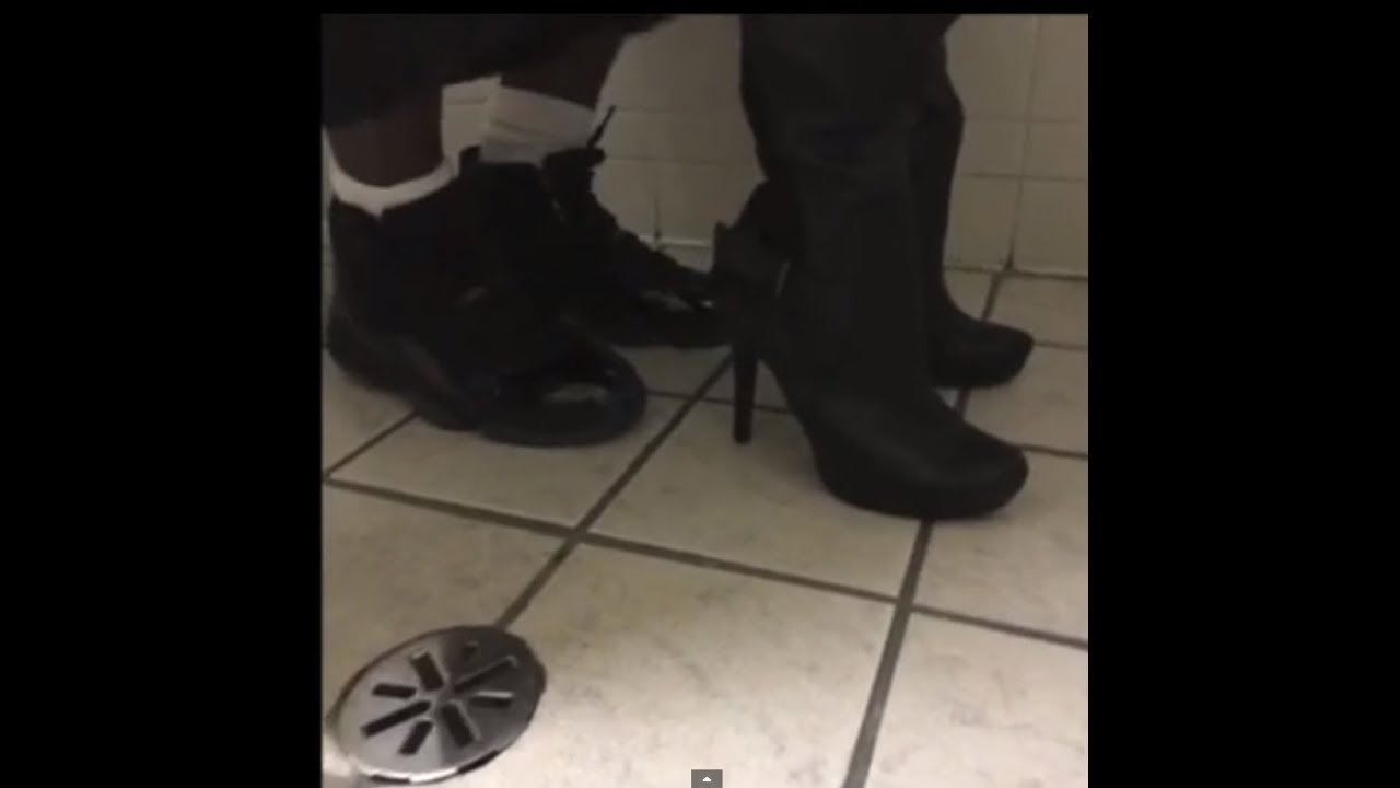 Couple caught having sex in the bathroom (Page Kennedy