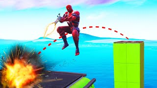 *NEW* BOUNCE Weapon IMPOSSIBLE PARKOUR! (Fortnite)