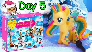 Playmobil Holiday Christmas Advent Calendar Day 5 Cookie Swirl C Toy Surprise Video