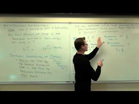 Statistics Lecture 6.4