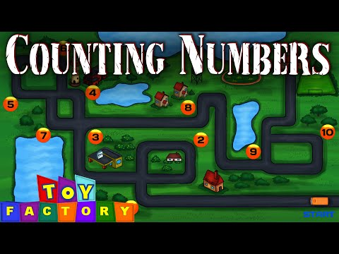 counting - learn to count - count to 10 - learn English numbers