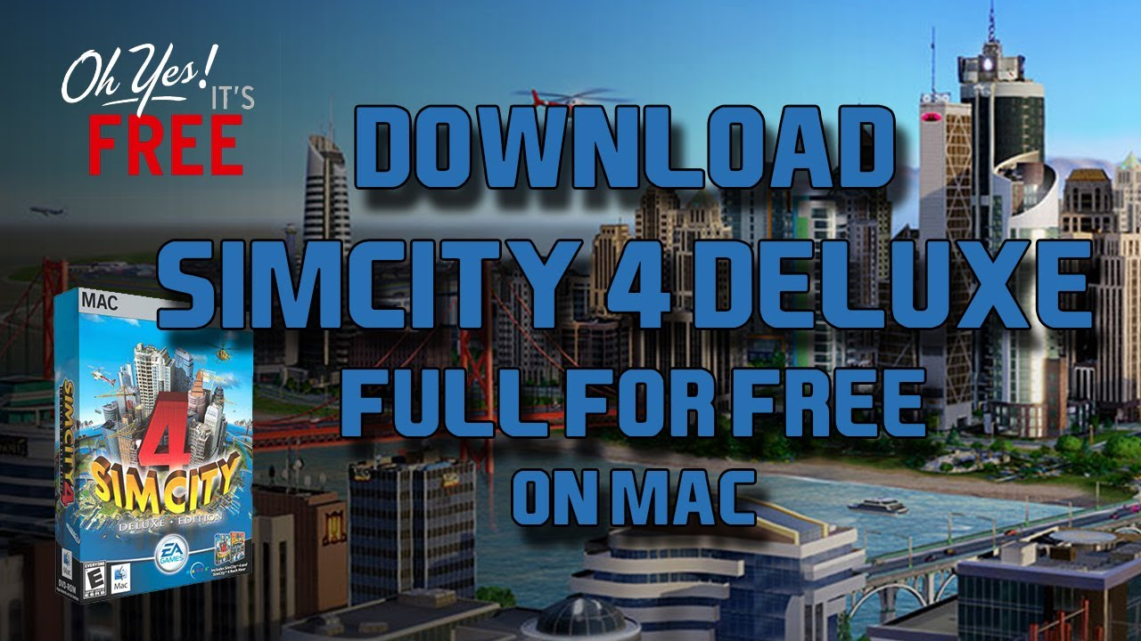 Simcity 4 Mac Download