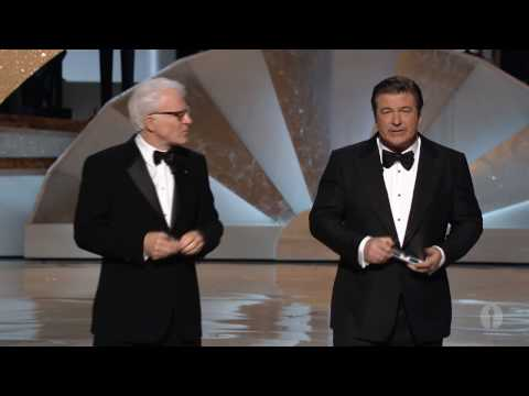 Steve Martin and Alec Baldwin hosting the Oscars