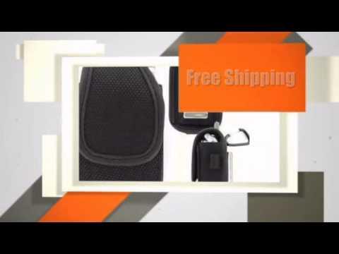 (L) Mega Clip Neoprene Pouch for Samsung Convoy SCH-U640
