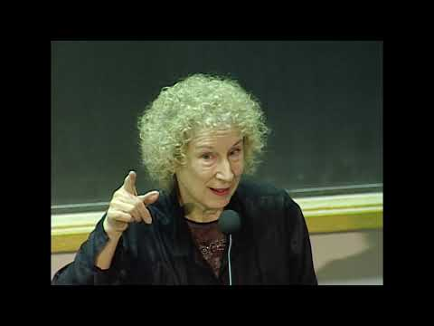 Margaret Atwood at MIT - 'Oryx and Crake' Revisited - 2004 Abramowitz Lecture