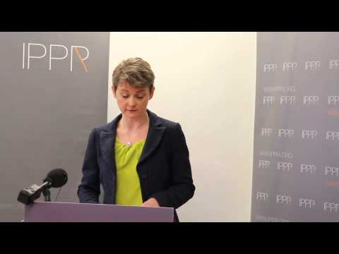 Yvette Cooper MP on immigration, speaking at IPPR