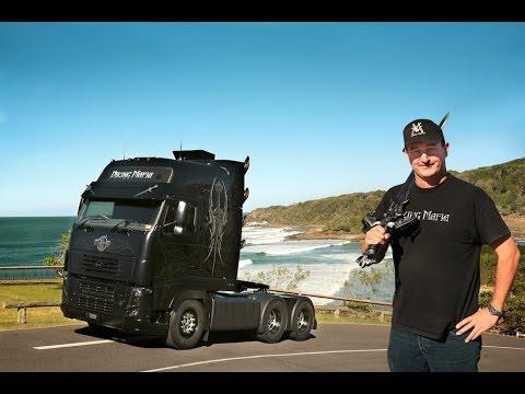 Volvo Trucks - Jason Ryan shows off his Viking Mafia truck ...