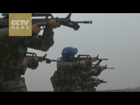 China sends first infantry troops to S. Sudan