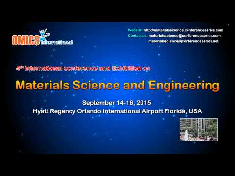 Materials Science up coming conference  2015