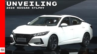 2020 Nissan Sylphy/Sentra unveiling At Auto Shanghai