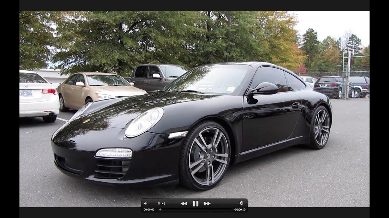 Black Porsche Car 2012 2012 Porsche 911 Black Edition