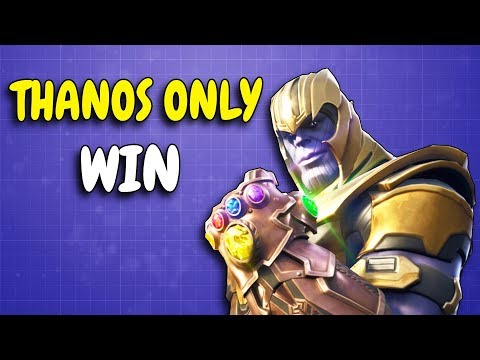 THANOS ONLY GAME | 17 KILLS