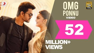 Sarkar   OMG Ponnu Song Video Tamil  Thalapathy Vi
