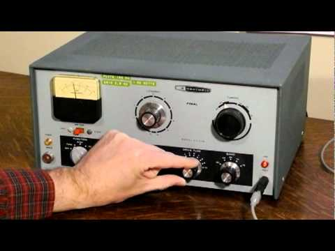 A Classic Ham Radio Transmitter - The Heathkit DX-60B