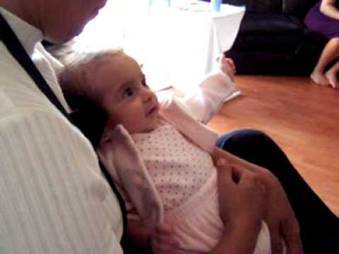 angelina conversing at 3 months old.MOV