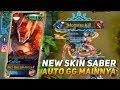 NEW SKIN SABER FULLMETAL RONIN AUTO GG MAINNYA | MOBILE LEGENDS INDONESIA MP3