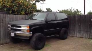Chevy 2dr Tahoe Lifted For Sale/trade