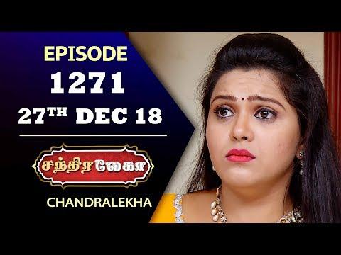 CHANDRALEKHA Serial | Episode 1271 | 27th Dec 2018 | Shwetha | Dhanush | Saregama TVShows Tamil