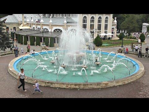 Ессентуки, фонтан, парк, прогулка.