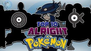 My Top 10 Middle Favorite Pokémon