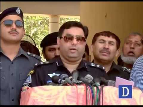 SP west media talks on children murder in Karachi