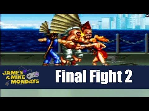 Final Fight 2 (Super Nintendo) James & Mike Mondays