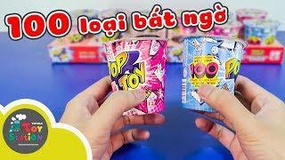 Mở 12 ly Pop Toy, loại đồ chơi có hơn 100 bất ngờ ToyStation 238