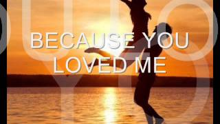 Baixar - Because You Loved Me Celine Dion With Lyrics Grátis