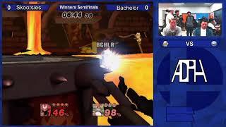 SSJ #56 - Project M Singles - Winners Semi Finals - Skootsi vs Bachelor