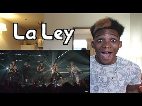 CNCO - La Ley (Live) | Vevo LIFT Live Sessions | REACTION