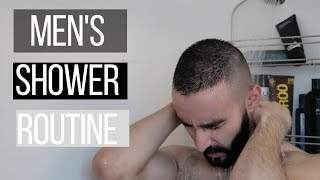 Men's Shower Routine :a parody also all the products I currently use