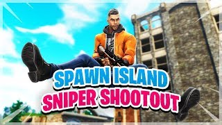 SPAWN ISLAND SNIPER BATTLE!!  - Fortnite Funny Fails and WTF Moments! #4 (Funny Moments)